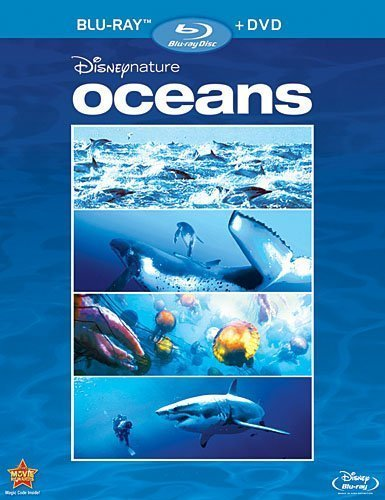Disneynature: Oceans (Two-Disc Blu-ray/DVD Combo) by Walt Disney Studios Home Entertainment by Jacques Cluzaud Jacques Perrin