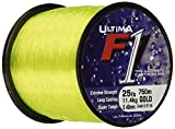 Ultima F1 Super Strong Beach Casting Sea Fishing Line - Black, 0.35 mm - 25.0 lb