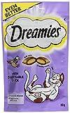 Dreamies Duck Flavoured Cat Treats 60G