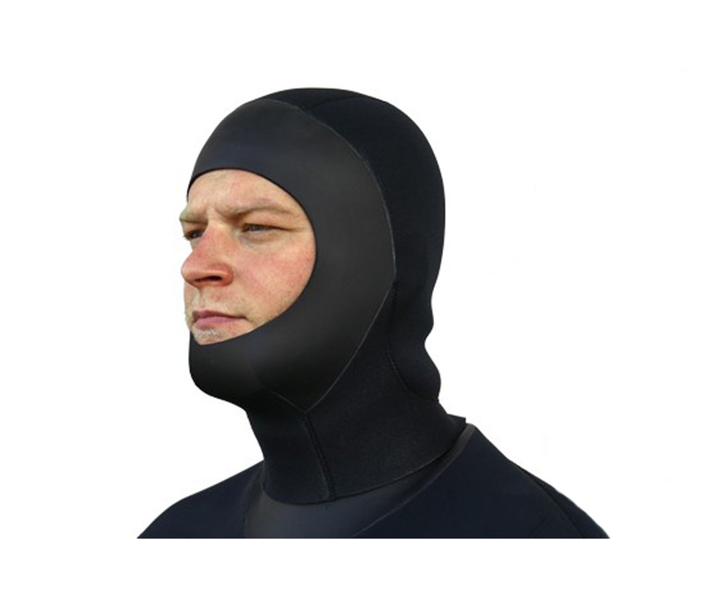 SEASOFT PRO 6MM COMMERCIAL DRYSUIT HOOD FOR USE WITH A FULL FACE MASK (Medium)