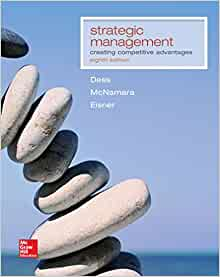 strategic management text and cases 5 e gregory g dess Compra strategic management: text and cases spedizione gratuita su ordini idonei.