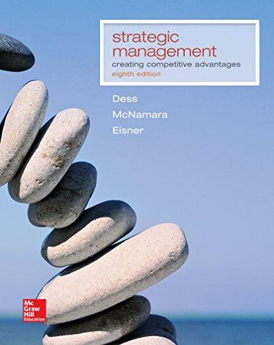 1259303500 - Strategic Management: Creating Competitive Advantages