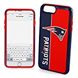 Forever Collectibles Bold Series Dual Hybrid Impact Series Case for Iphone 7 NFL New England Patriots