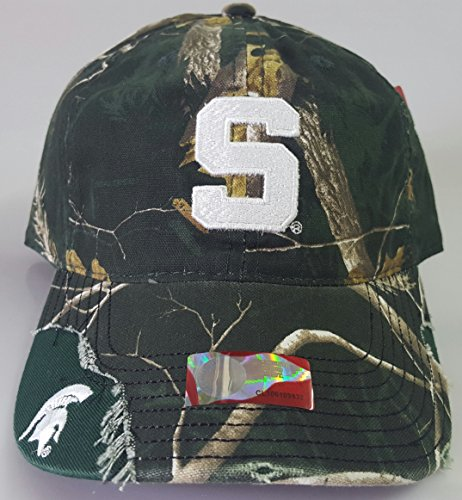 NCAA New Michigan State Spartans Embroidered Adjustable Buckle Cap by NCAA