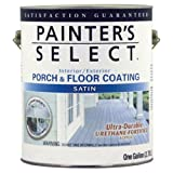 True Value USF1-GL Painter's Select Pastel Base White Exterior Satin Porch and Floor Coating, 1-Gallon