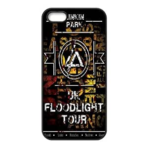 iPhone 4 4s funda Negro [PC dura del caso + HD Pattern] Linkin Park ® Series [Numeración: JJJJDHKOF1305]