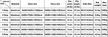 Escabeau t/élescopique pliable en aluminium multifonction EN131