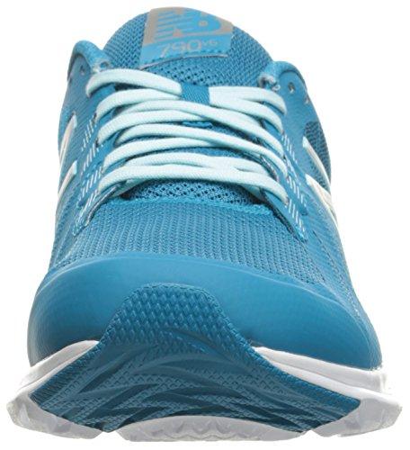 New Balance Womens W790v6 Scarpa Da Running Blu Intenso Ozono / Blu Ozono Glow / Lime Glow