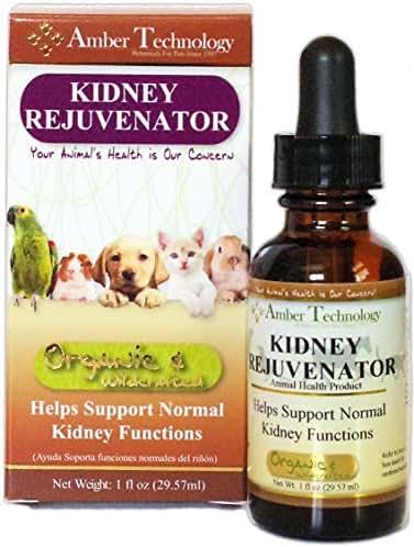 Amber Technology Kidney Rejuvenator for Pets, 1 Ounce