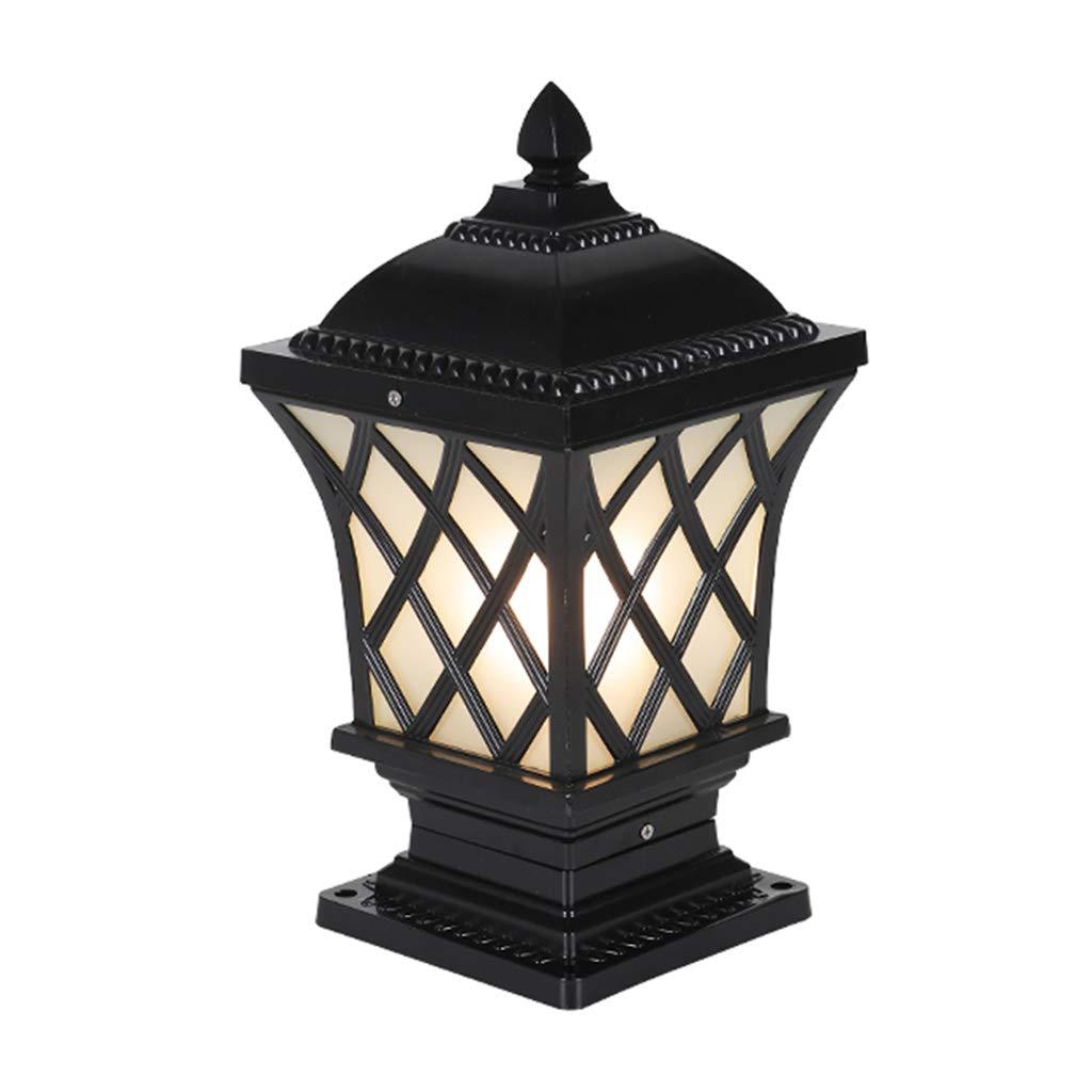 Luci solari Lampada da Parete Lampada Pilastro LED Lampada da Esterno Porta Colonna Villa Lampada da Esterno Impermeabile Lampada da Terra Lampada da Giardino Giardino Luce Esterna