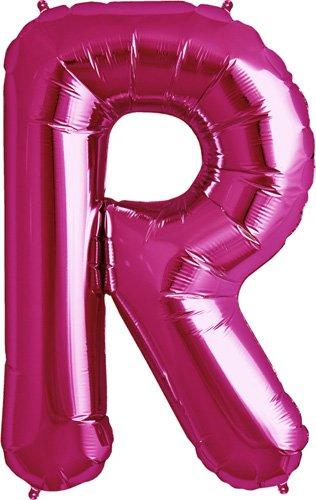 NorthStar Foil Balloon 000187 Letter R - Magenta, 34