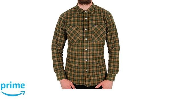 Brixton Mens Bennett Standard Fit Long Sleeve Flannel Shirt