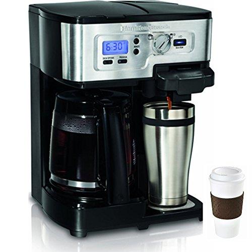 Hamilton Beach 2-Way FlexBrew 12-Cup Coffeemaker + Copco To Go Cup Bundle (Hamilton Beach 49983 Filter compare prices)