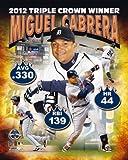 Miguel Cabrera Detroit Tigers 2012 AL Triple Crown Composite Photo 8x10