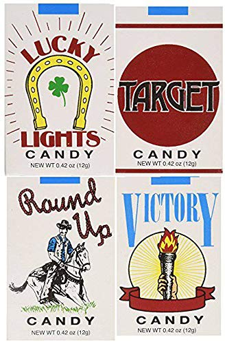 - 8 PACKS CANDY CIGARETTES