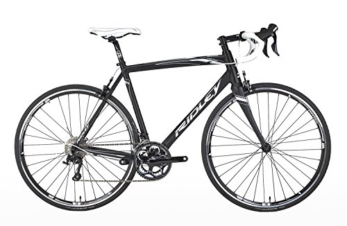 Ridley Fenix Alloy 105 FE701AM Bike with Safety Reflectors, Black, 50 cm/X-Small