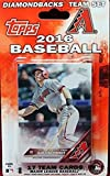Arizona Diamondbacks 2016 Topps Baseball Factory Sealed EXCLUSIVE Special Limited Edition 17 Card Complete Team Set with Paul Goldschmidt & Many More Stars & Rookies! Shipped in Bubble Mailer!
