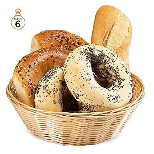 Round Bread Basket - 6