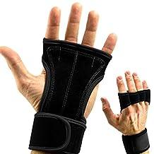 Gracefulvara Fitness Gloves Weight Lifting Gym Workout Training Wrist Wrap Strap Men