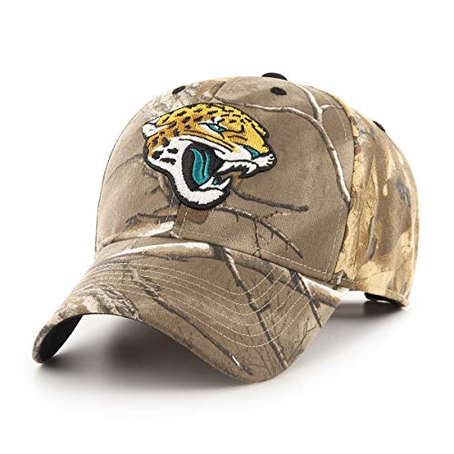 OTS NFL Jacksonville Jaguars Male Hickory All-Star Adjustable Hat, Realtree, One Size