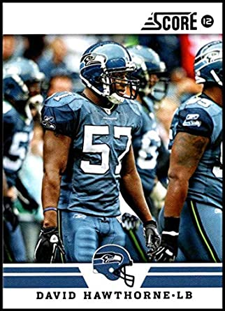 2012 Panini Score  98 David Hawthorne NM-MT Seattle Seahawks Official NFL  Football Card 2ad755be1