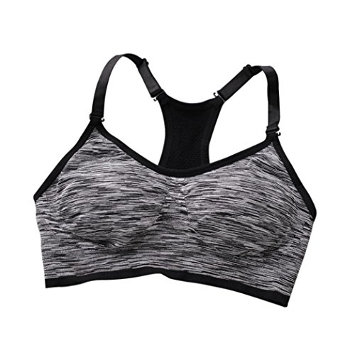 - Bra Top ,Beautyvan Comfortable Fashion Women Lady Sports Yoga Athletic Solid Wrap Chest Strap Vest Bra (2~A)