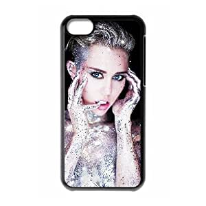 New Design Durable Back Cover Case for Iphone 5C Phone Case - Miley Cyrus HX-MI-055141
