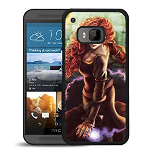 Beautiful And Unique Designed With Girl Magic Balls Hall For HTC ONE M9 Phone Case