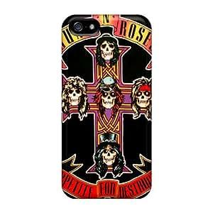 New Design Shatterproof AqzsBNf5581lcWlT Case For Iphone 5/5s (guns N Roses)