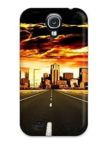 Excellent Design City Phone Case For Galaxy S4 Premium Tpu Case