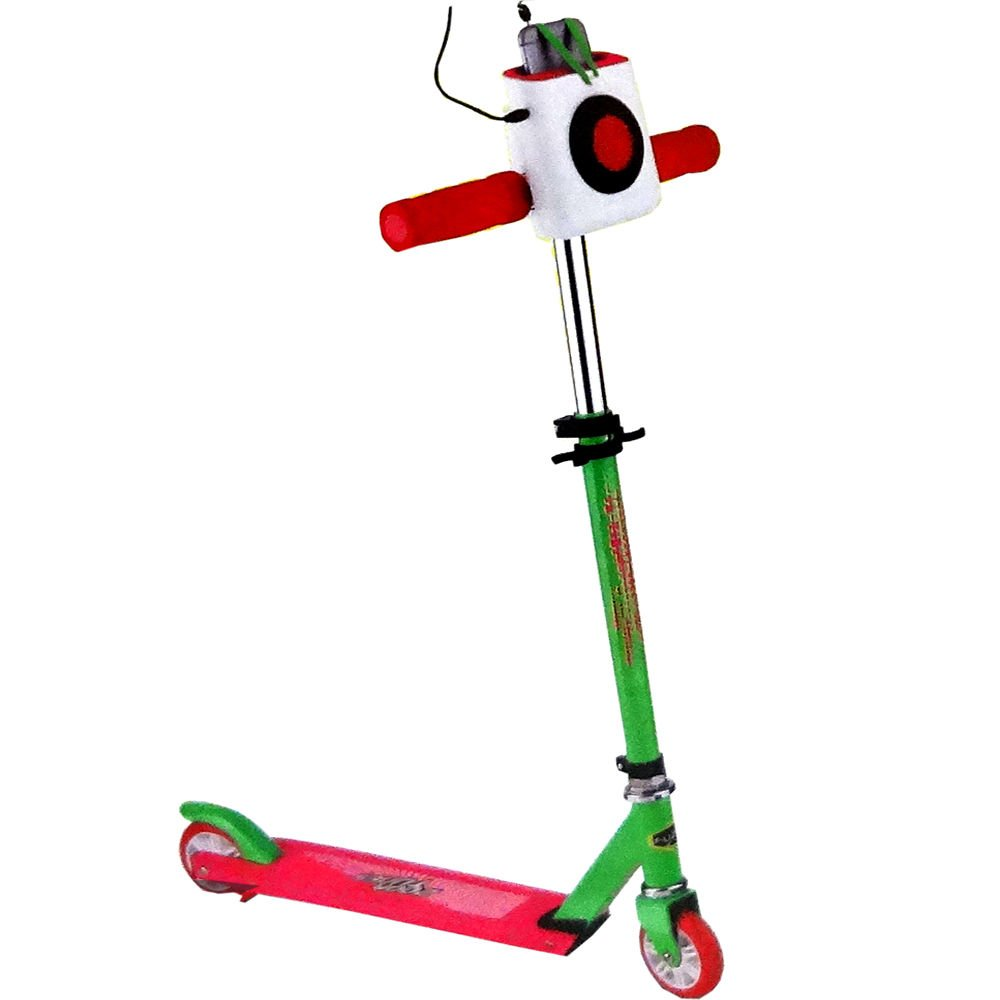Fuzion Zoom Tunes Scooter - Pink/Green