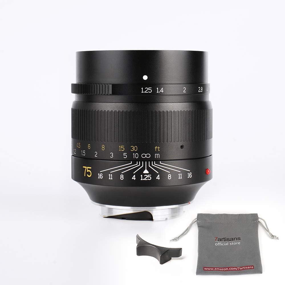 7artisans 75mm F1 25 Fixed Mirrorless Kameraobjektiv Kamera