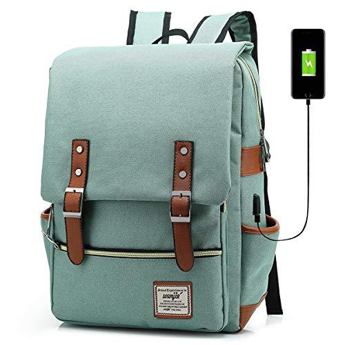 91bac2f6029a HFSX Vintage Laptop Backpack for Women Men School College ...