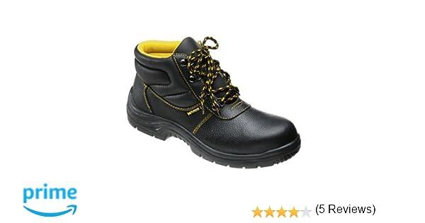Wolfpack 15018040 Botas de seguridad de piel, talla 44, color negro: Amazon.es: Bricolaje y herramientas