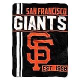 SF Giants OFFICIAL Major League Baseball, Walk Off 46 x 60 Micro Raschel Throw