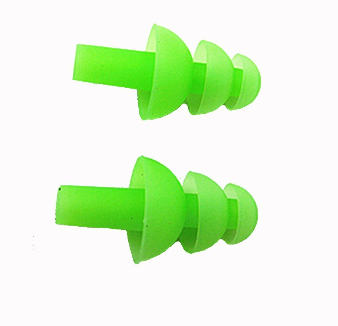 CARLCOO Silicone Earplugs Swimmers