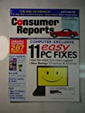 Consumer Reports Magazine 'Computer exclusive 11 easy PC FIXES, get the most from tech support, new ratings: 27 laptops & desktops' (Consumer Reports unbiased ratings 287 products, etc...)