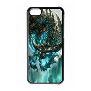 Fashionable Creative Game World of Warcraft for iPhone 5C QERK00115