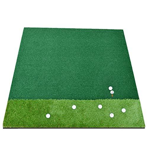 DQMSB Golf Mat Double Grass Driving Field Mat (with Non-Slip Bottom) 1.5 X 1.5m Exercise mats
