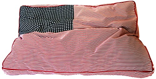 Iconic Pet Freedom Buster Beds, Small, Red/White/Blue by Iconic Pet