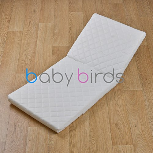 Baby Birds Pram Mattress - Silver Cross Carlton 77cm x 36cm
