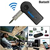 ABC 3.5mm Wireless Bluetooth AUX Audio Stereo Music Home Car Receiver Adapter Mic