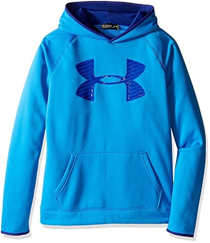 Under Armour Boys' Storm Armour Fleece Highlight Big Logo Hoodie Size YMD