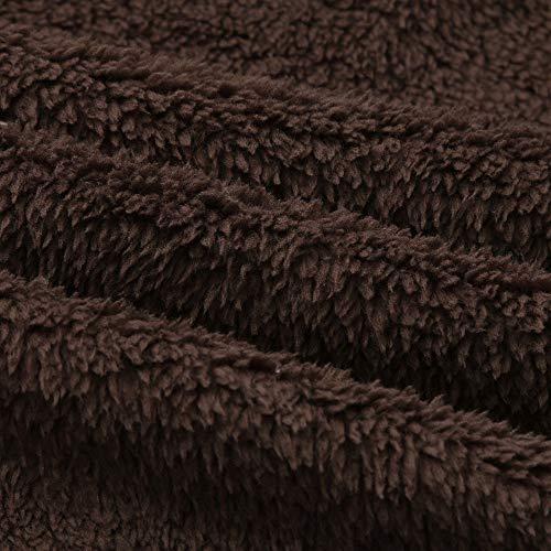 Veste Synthétique Fourrure Fit Brun Hiver Chaud ❤ Décontracté Vicgrey Loose Veste Revers Manteau Veste Fourrure Parka Femme Écologique En 6ZAgwqa