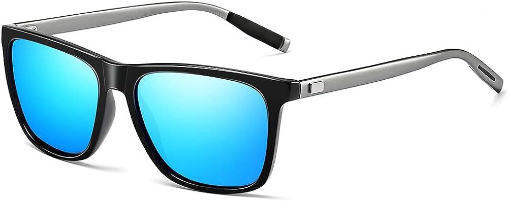 Gimdumasa gafas lentes de sol retro vintage polarizadas para hombres de mujer GI777