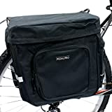 PedalPro Double sacoche pour arrière de vélo Noir