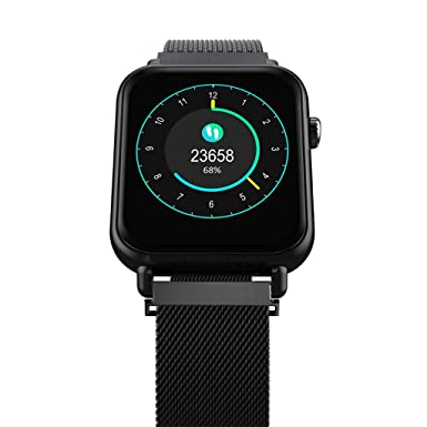 Amazon.com: Dirance Waterproof Bluetooth Smart Watch Heart ...