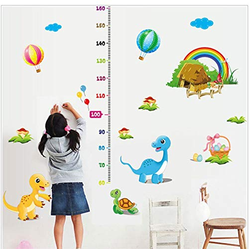 Culturemart Dinosaur Height Growth Chart Nursery ren's 's Boys Wall Art Stickers Acceptable (Chart Dinosaur Personalized Growth)