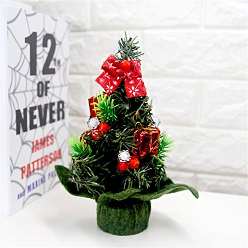 mini artificial christmas pine trees chiristmas decorations chiristmas gifts color a - Best Artificial Christmas Tree Reviews