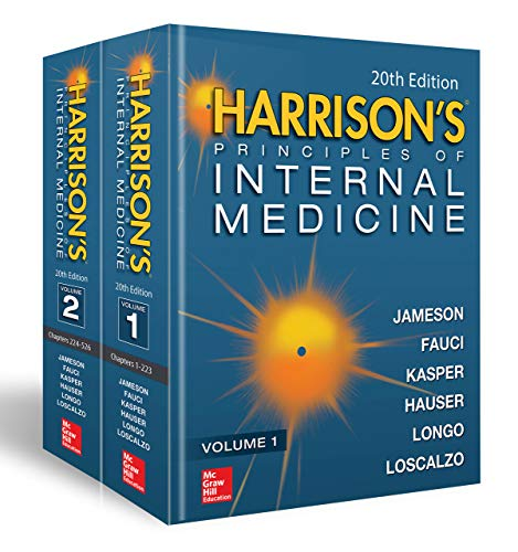 - Harrison's Principles of Internal Medicine, Twentieth Edition (Vol.1 & Vol.2)